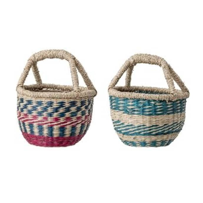Bloomingville Mini Kids Seagrass Baskets