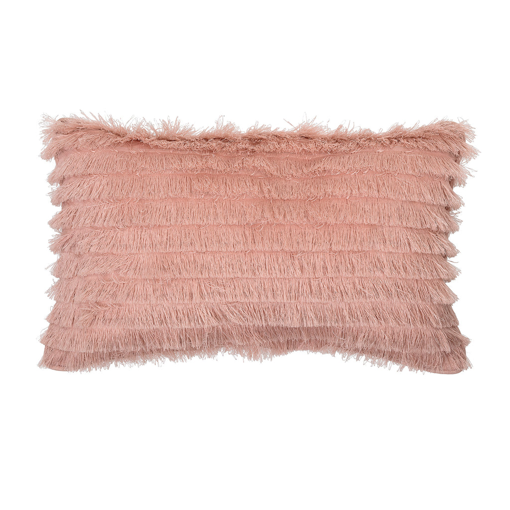Bloomingville Mini - Pink Fringe Tassel Cushion