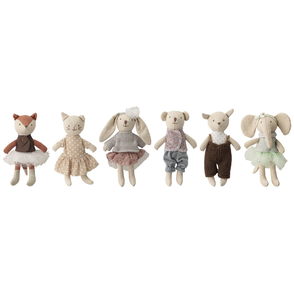 Bloomingville Mini - Soft Toy Animal Set