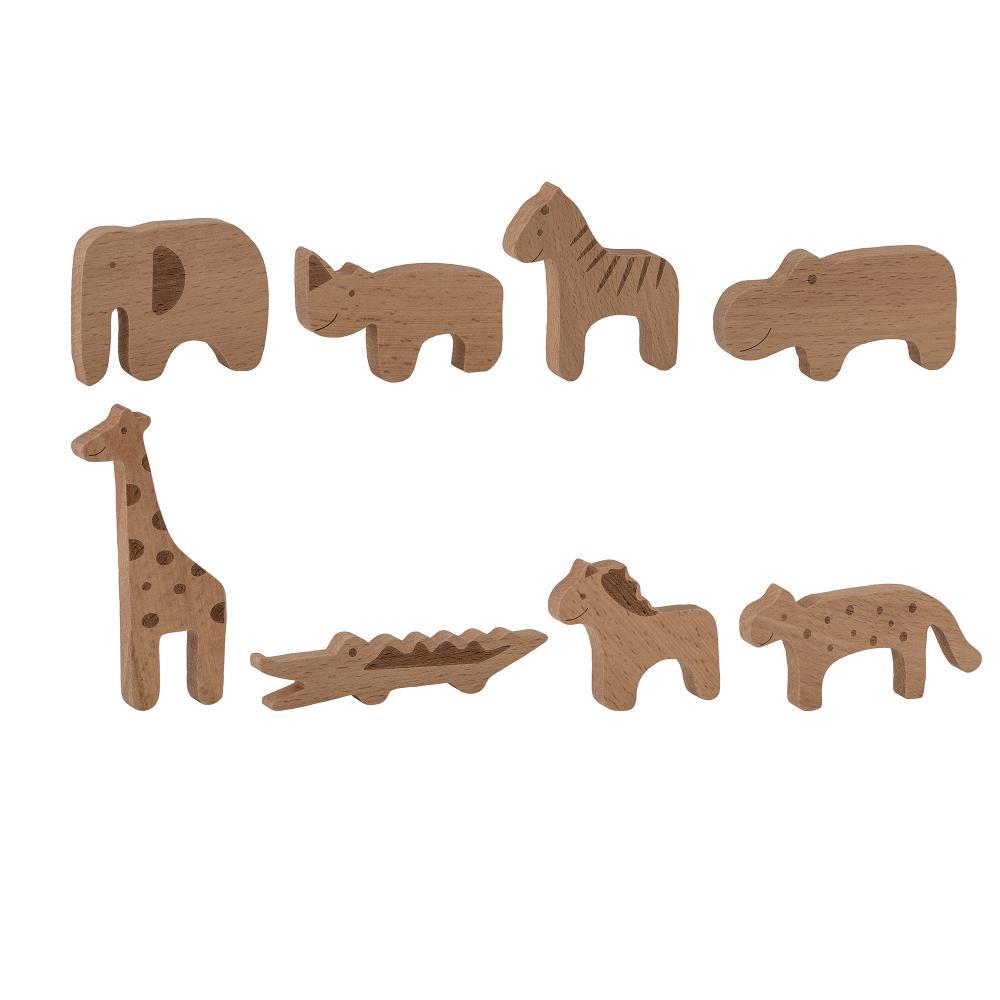 Bloomingville Mini - Wooden Toy Animal Set