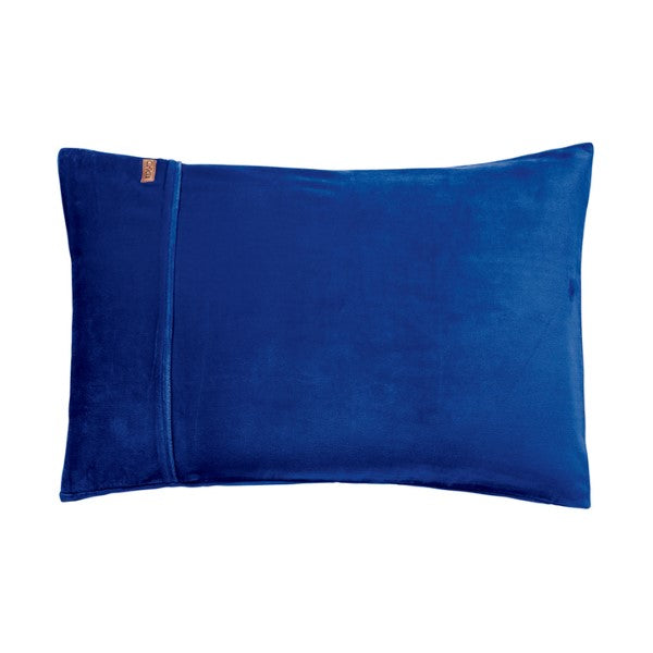 Kip & Co Electric Blue Velvet Quilt Cover