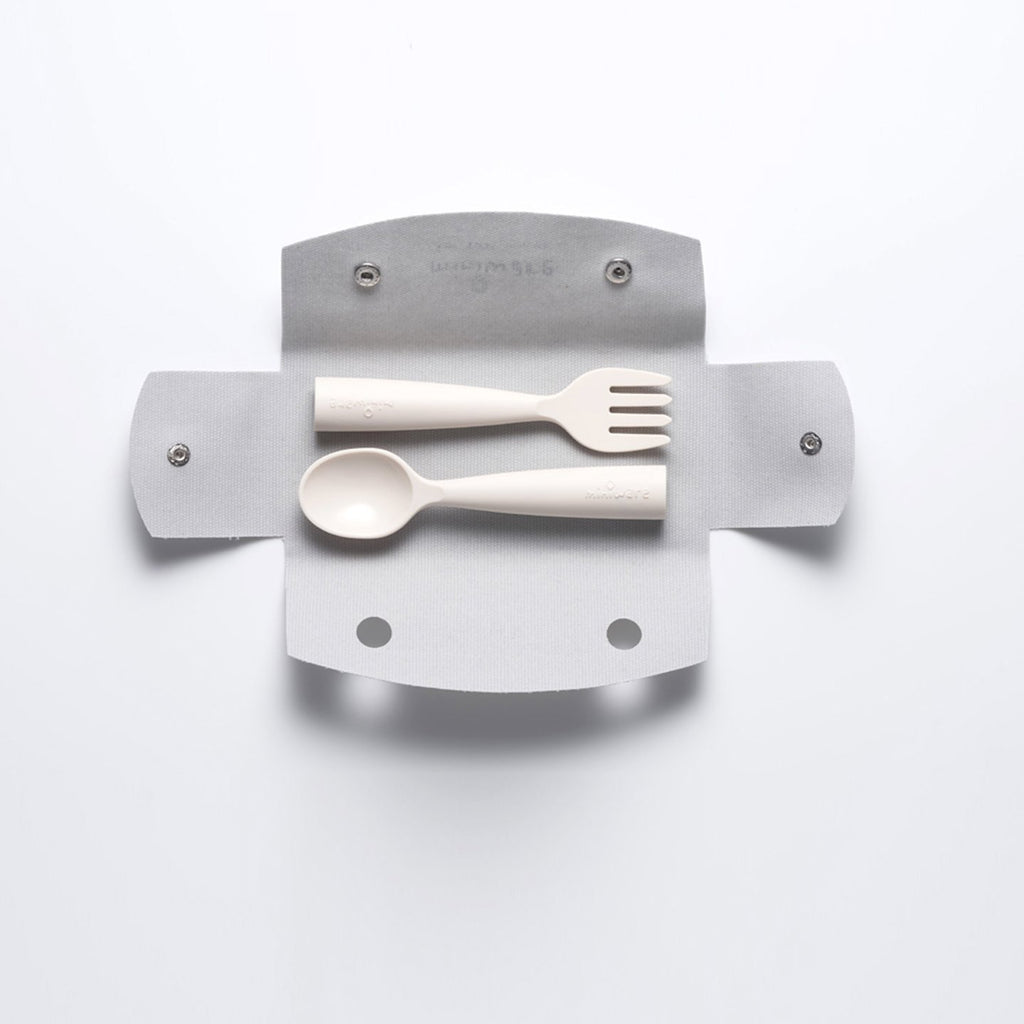 Bonnsu Miniware Fork and Spoon Set