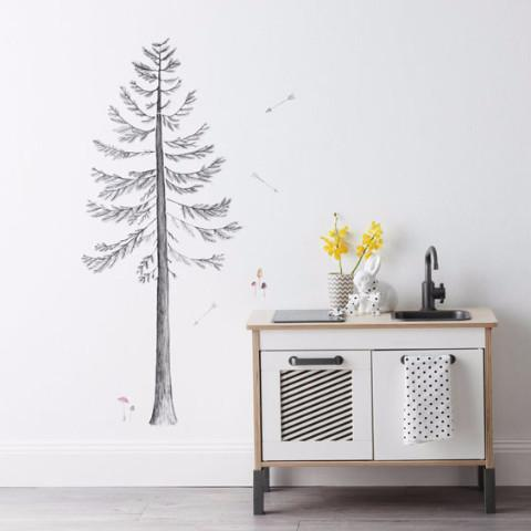Love Mae Wall Decals - Build a Pine Tree