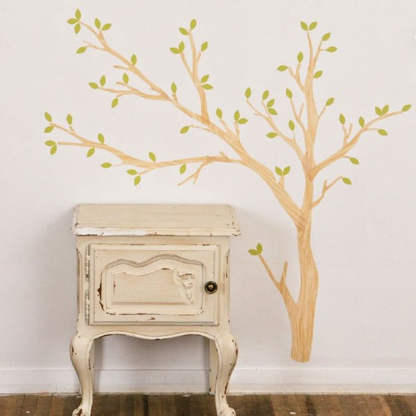 Love Mae Fabric Wall Stickers Build a Tree  Light