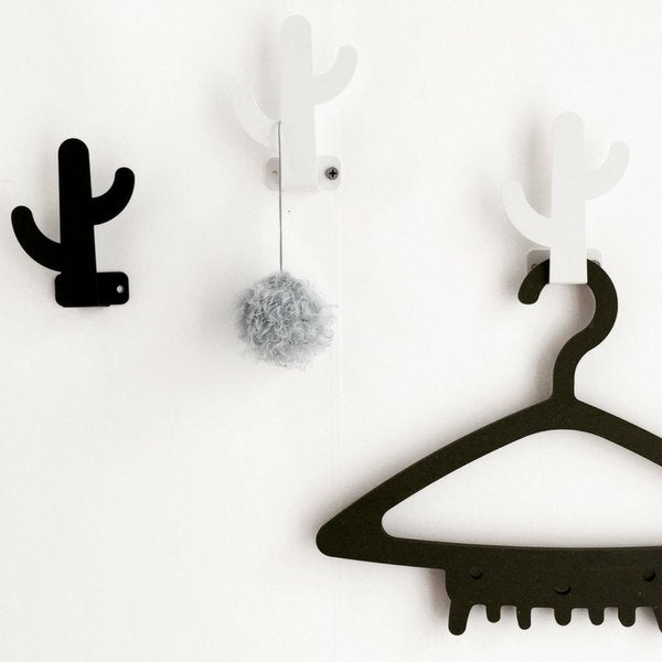 Wood Rabbit Cactus Hook