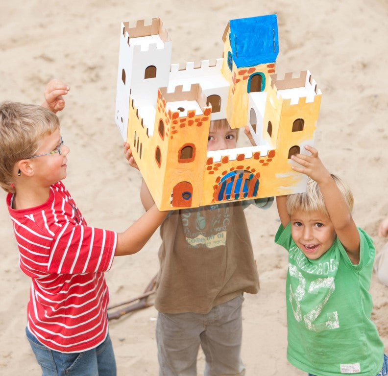 Calafant Level 2 Arts and Crafts Build and Colour  Rock Castle