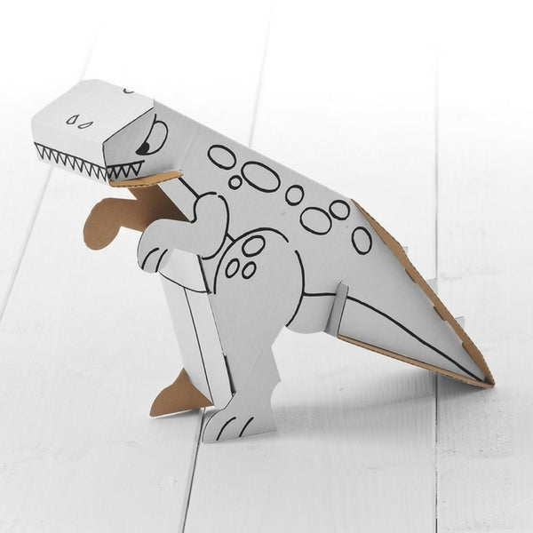 Calafant Level 1 Art and Craft Build and Colour  Dinosaur