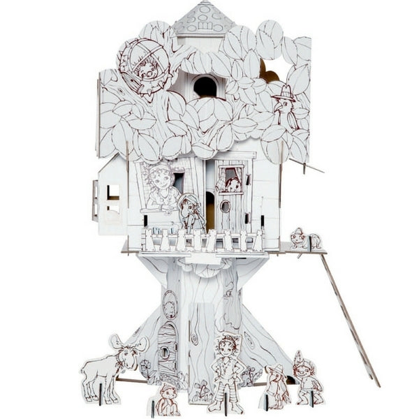 Calafant Art Craft Toy Level 3 Pipa Lupina Treehouse