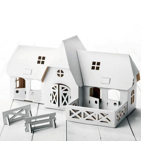 Calafant Art Craft Toy Level 3 Horse and Pony Farm