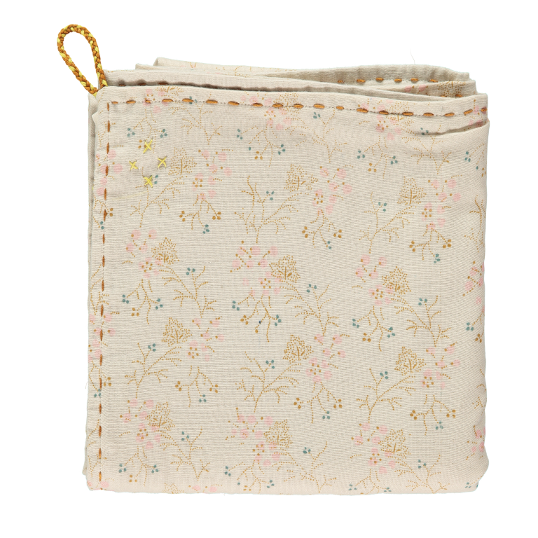 Camomile London Baby Swaddle Blanket - Minako Floral Pink