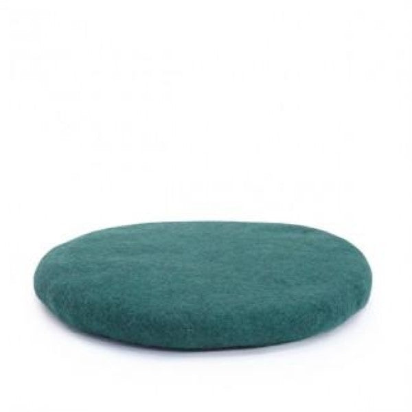 Muskhane handmade kids felted chakati floor cushion Teal