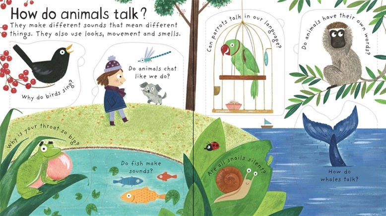 Children's Book - How Do Animals Talk?