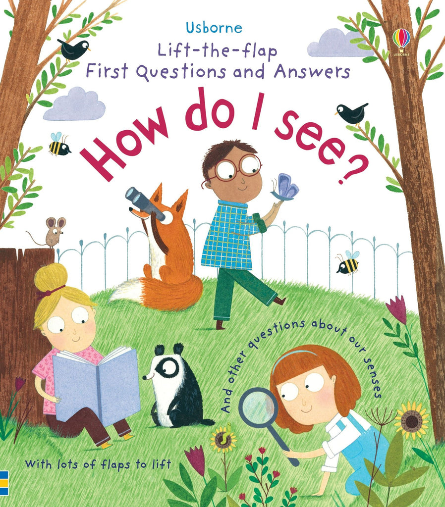 Children's Book - How Do I See?