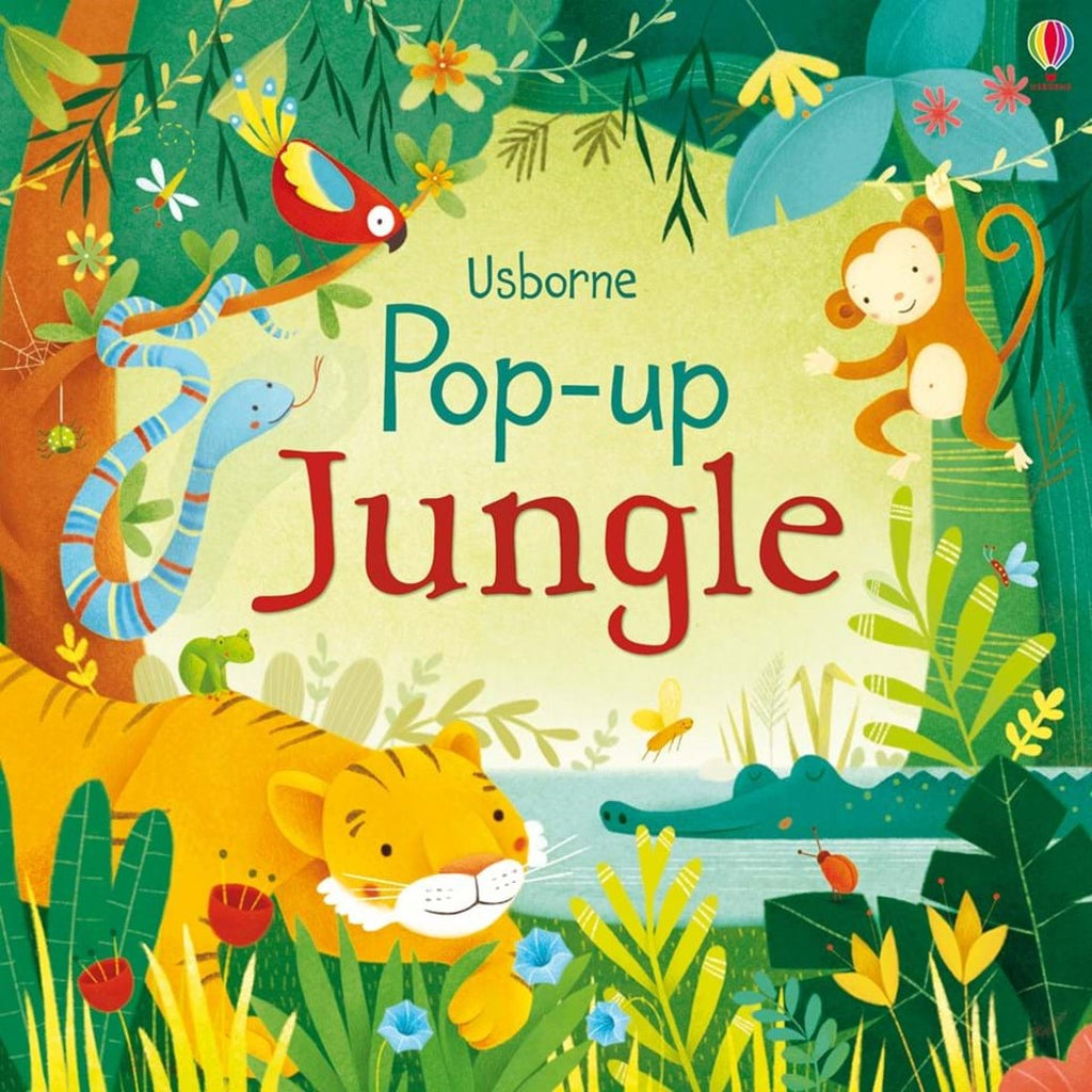 Children's Book - Pop Up Jungle