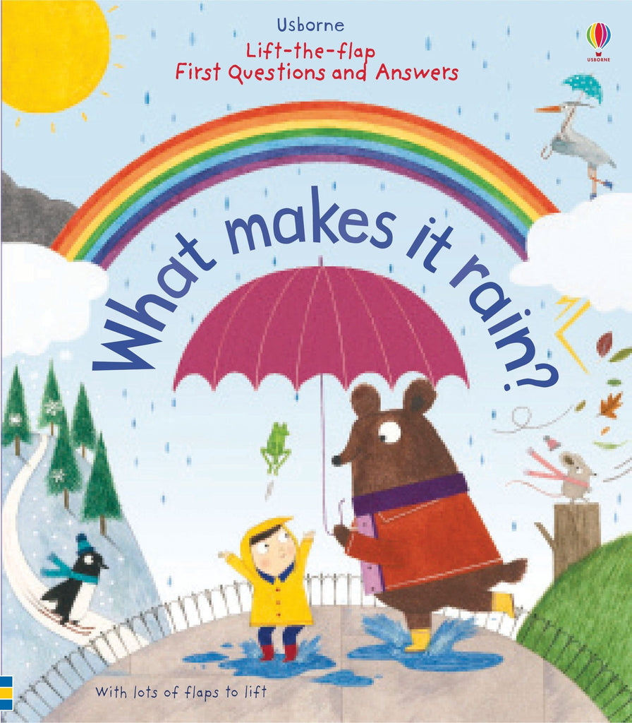 Children's Book - What Makes It Rain?