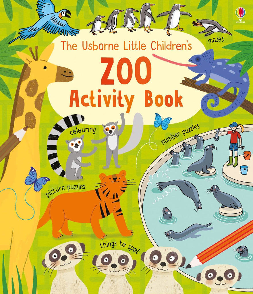 The Little Children's Zoo Activity Book