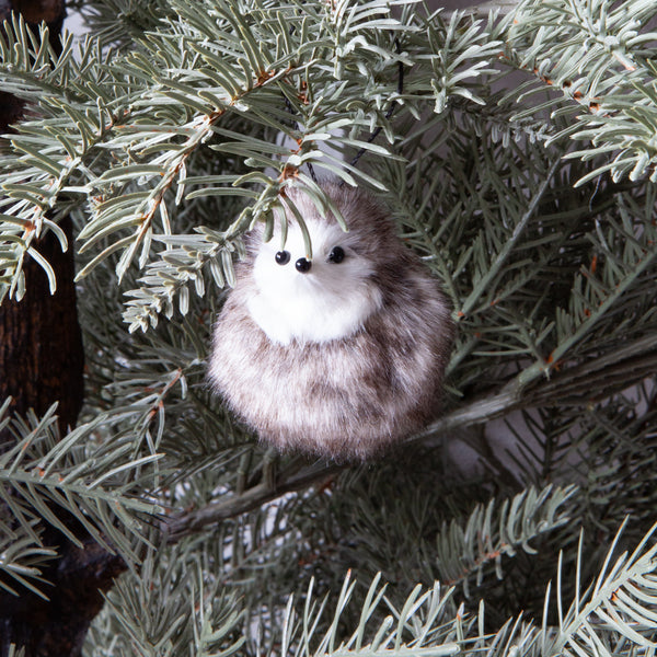 Christmas Decorations - Fluffy Hedgehog