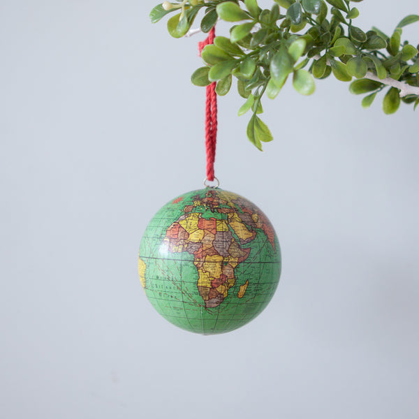 Christmas Decorations - World Globe
