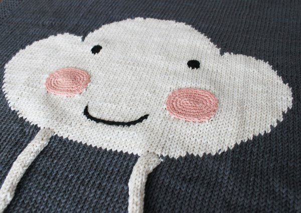 Appi Studio Baby Blankets  Happy Cloud Baby Blanket