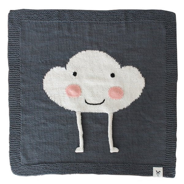 Happy Cloud Baby Blanket