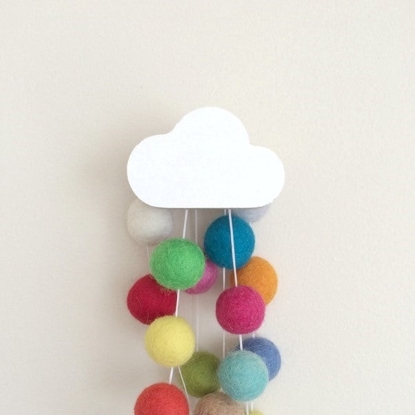 Cloud Wall Hook White