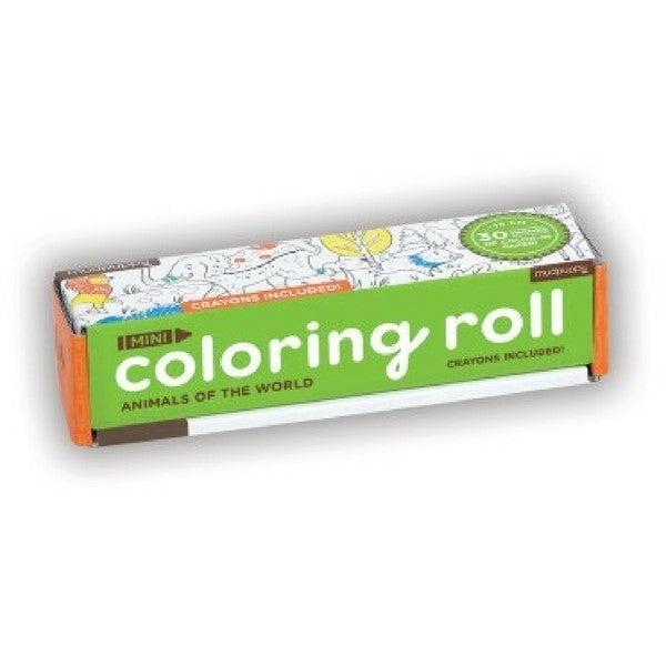 Colouring Roll Animals of the world