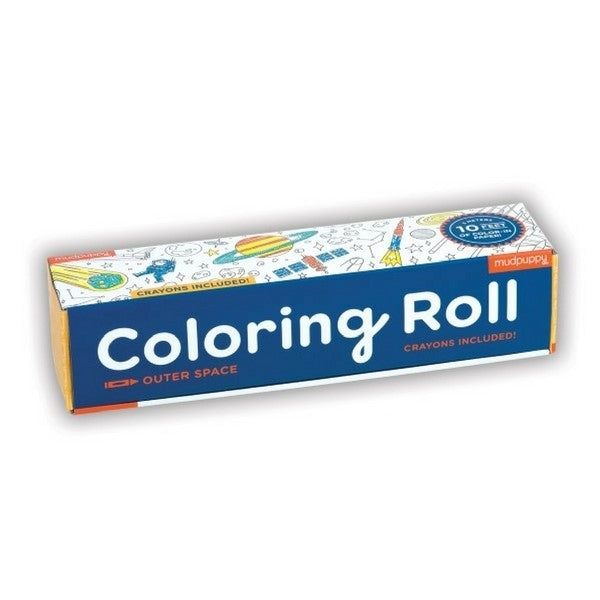 Mudpuppy Colouring Roll  Space