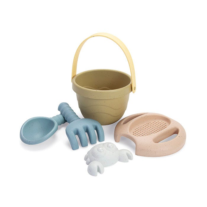 Dantoy Tiny Bio Bucket Set 5 Pieces