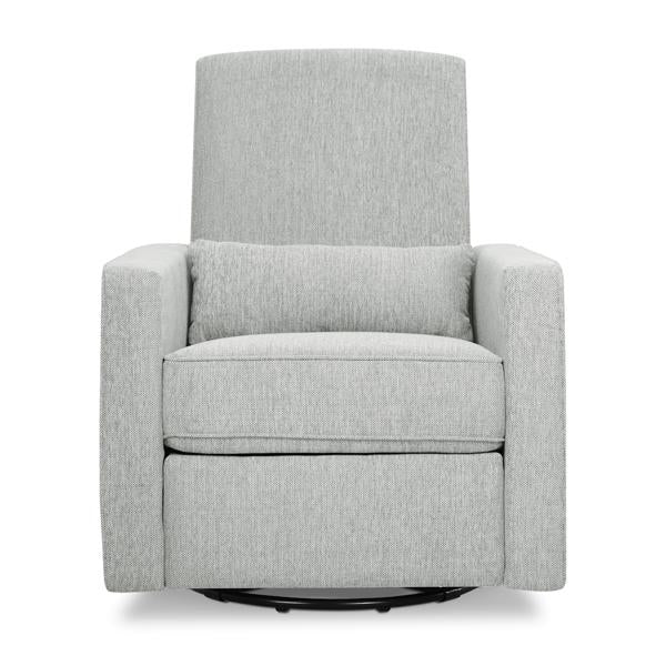 DaVinci Piper Recliner and Swivel Glider Nursing Chair - Cloud Grey