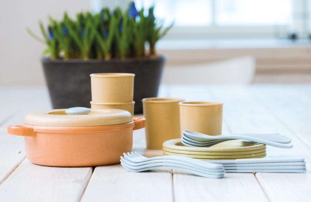 Dantoy -BIOplastic Dinner Set