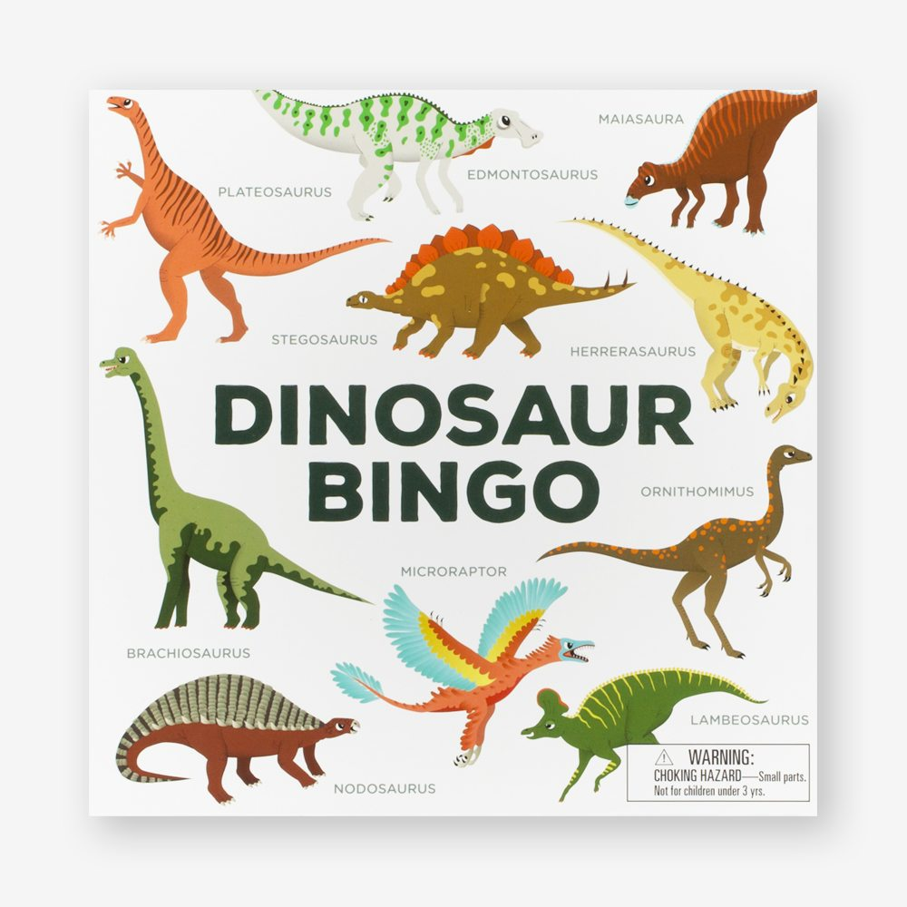 Childrens Game - Dinosaur Bingo