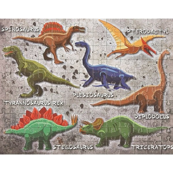 Floss & Rock Dinosaur Jigsaw Puzzle 130pc