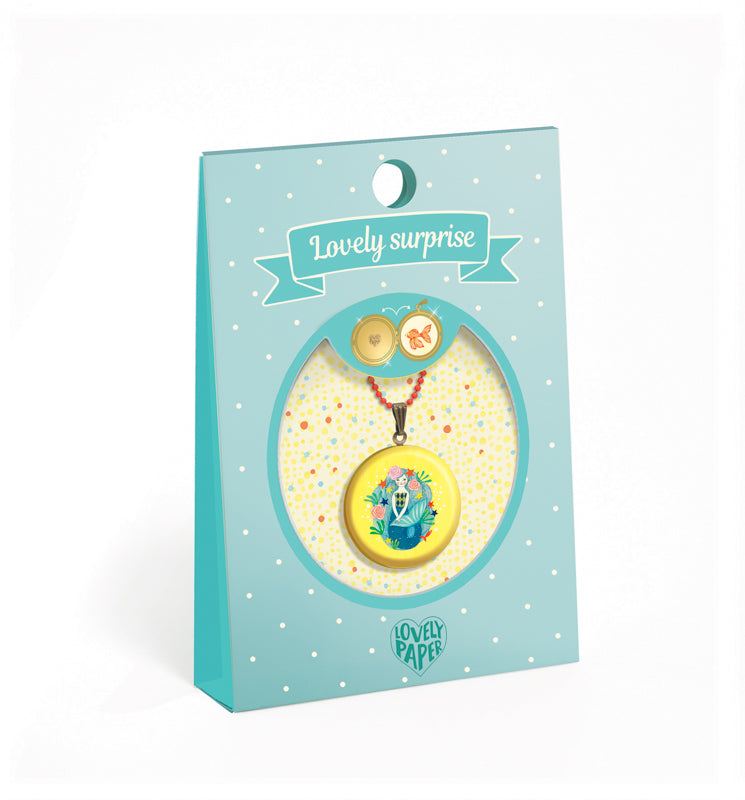 Djeco Kids Jewellery - Mermaid Locket Necklace
