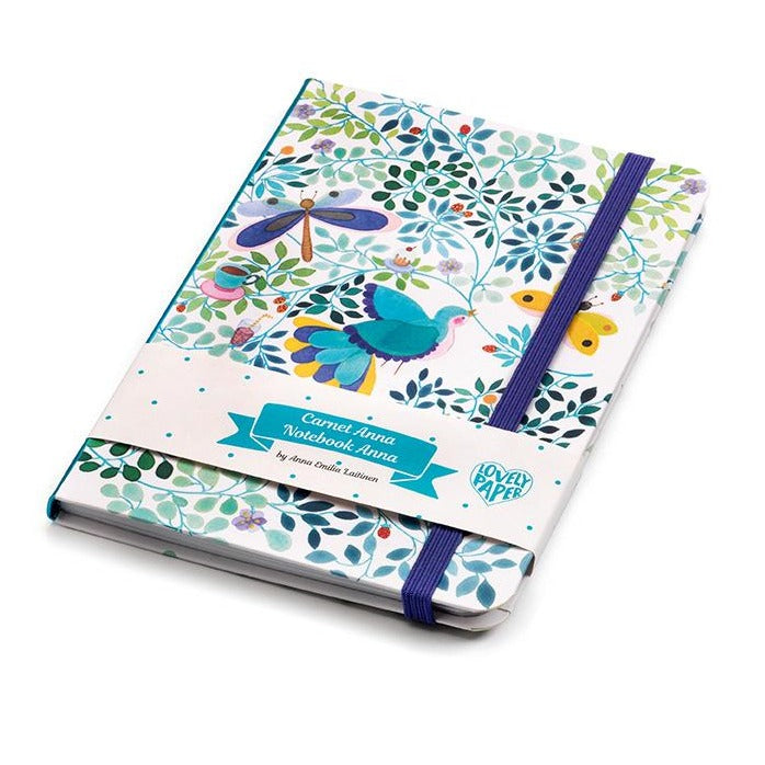 Djeco Kids Stationery - Anna Notebook with Elastic