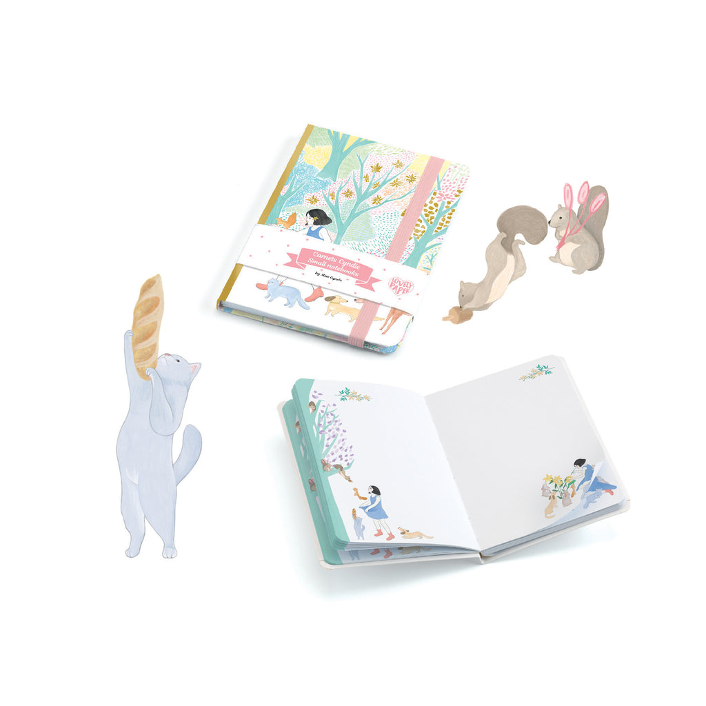 Djeco Kids Stationery - Cyndi Notebook With Elastic