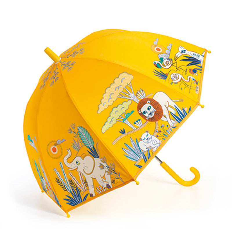 Djeco Kids Umbrella - Savanah