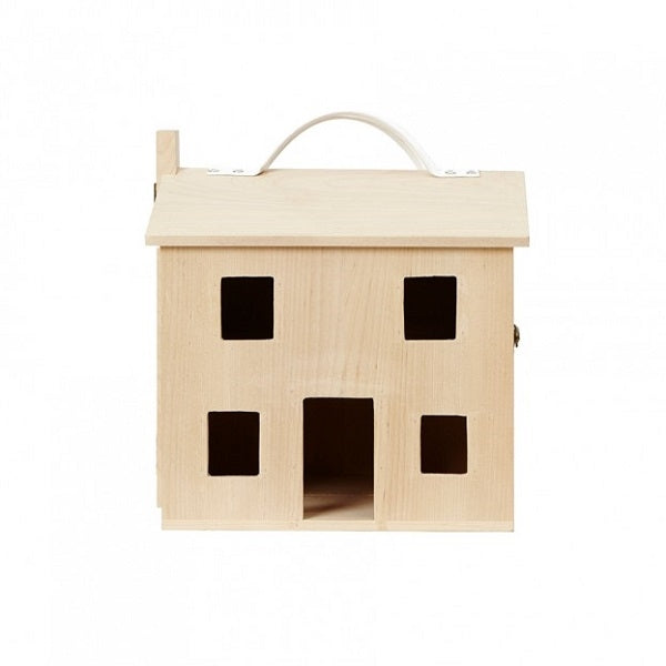 Portable Wooden Doll House