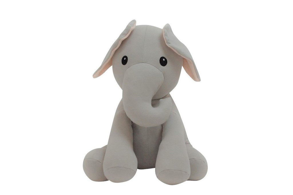 Elly Lu Organic Cotton Animal Soft Toys - Edmund the Elephant
