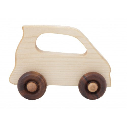 Wooden Story Toys - Electric Car Wooden Toy Car