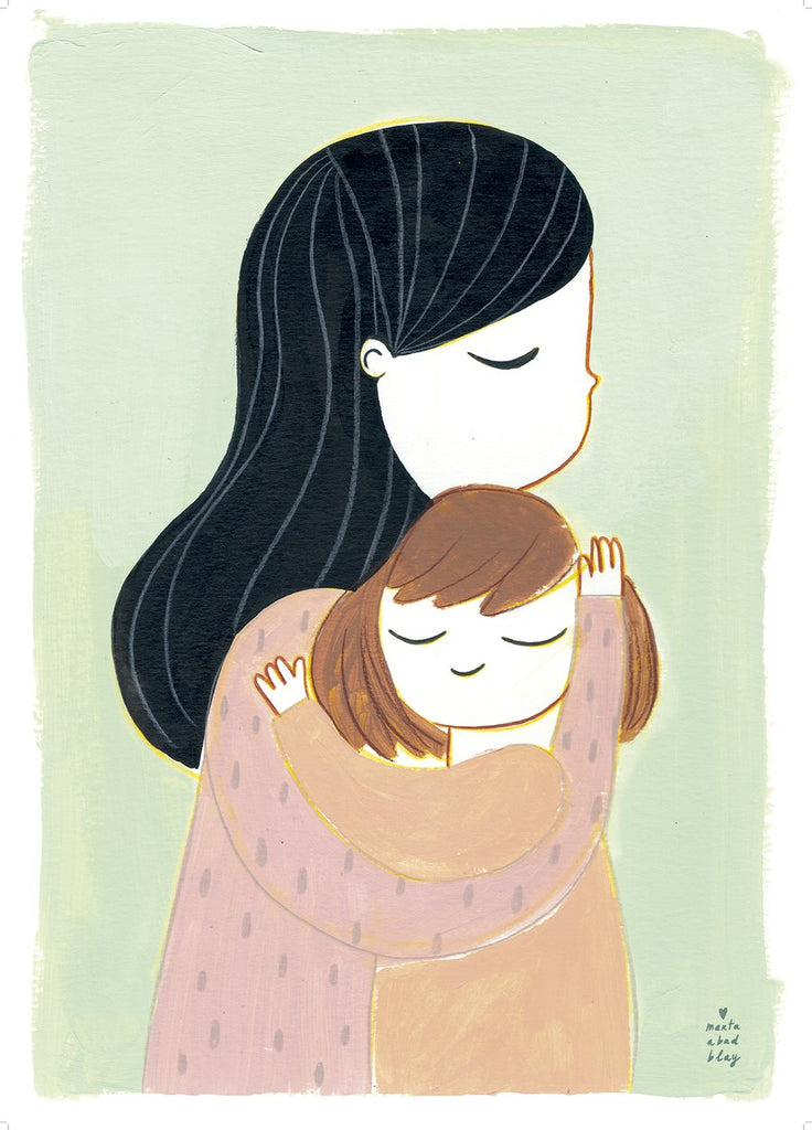 Marta Abad Blay Kids Wall Art - Embrace Mia