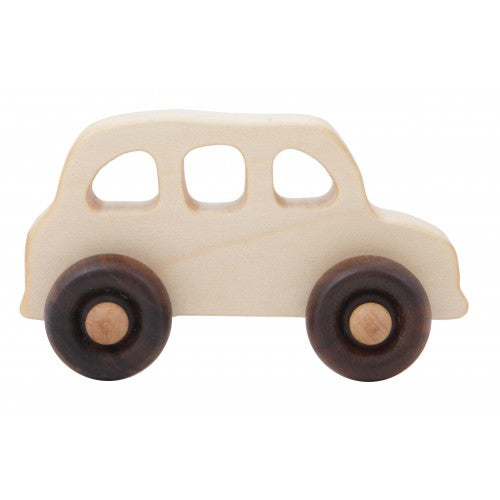 Wooden Story Toys - English Taxi Wooden Toy Car