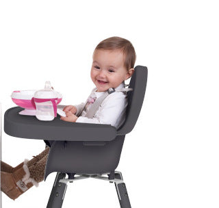 Evolu 2 High Chair Plastic Tray Grey