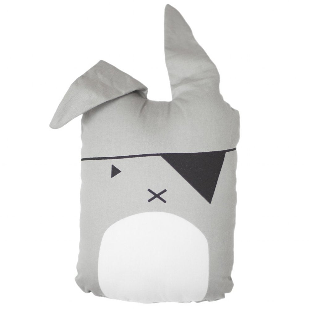 Fabelab Organic Cotton Animal Cushion Pirate Bunny