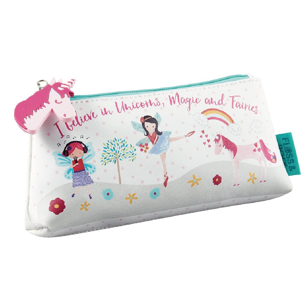 Floss & Rock Kids Pencil Case - Fairy Unicorn