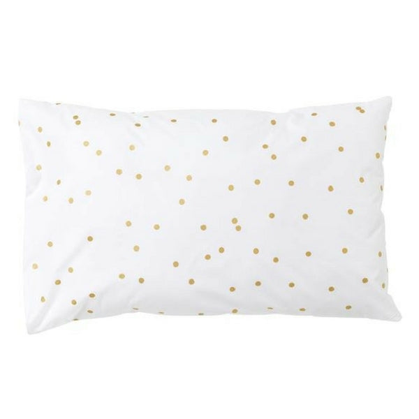 Feliz Organic Kids Bedding  Sprinkle Sprinkle Gold Pillowcase