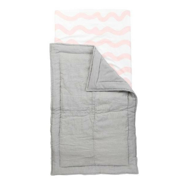 Wiggles Cot Fitted Sheet Pink