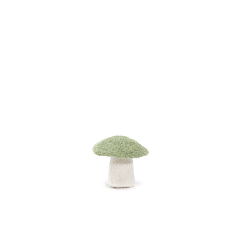 Muskhane Handmade Room Decorations - Mushroom Small Tender Green