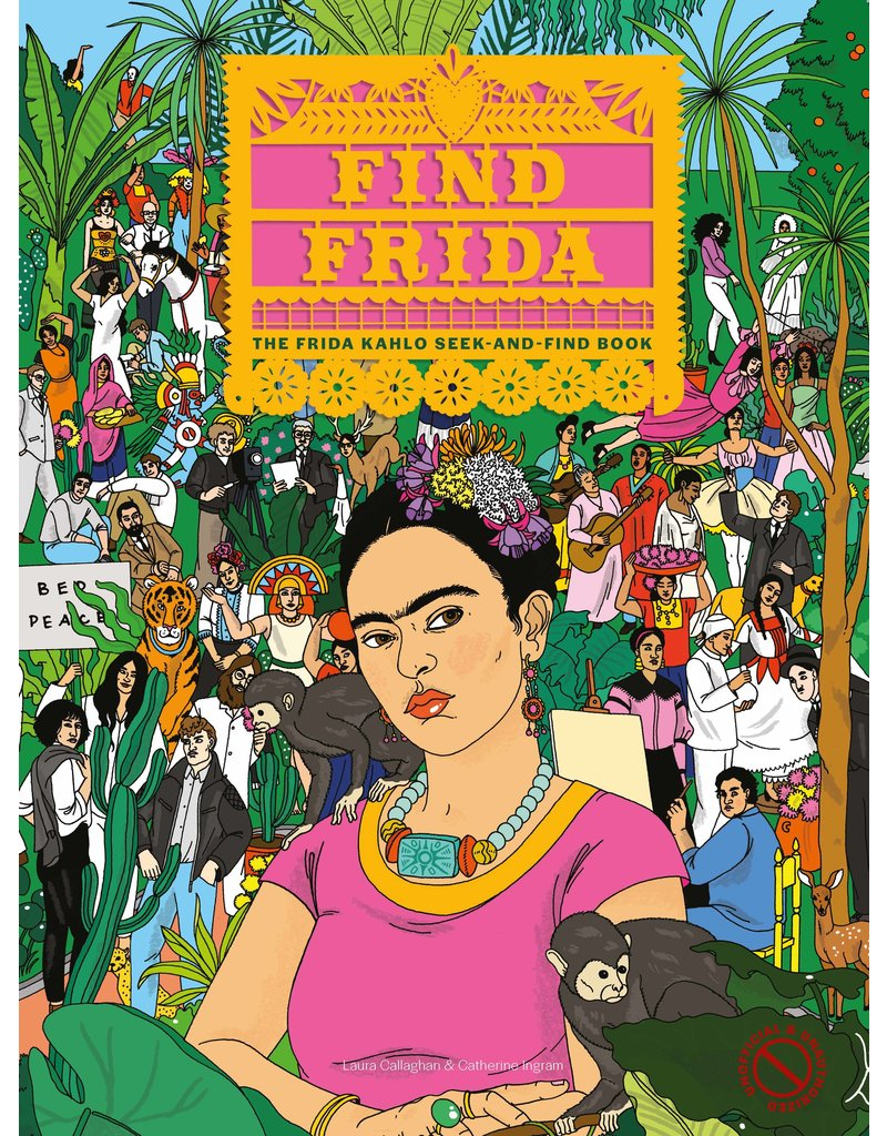 Children's Seek and Find Book - Find Frida