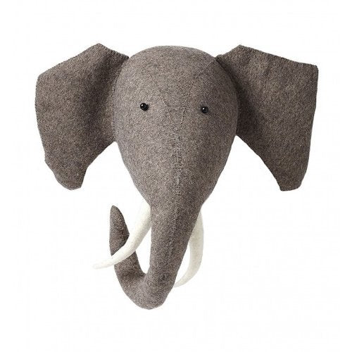 Fiona Walker Elephant Felt Heads