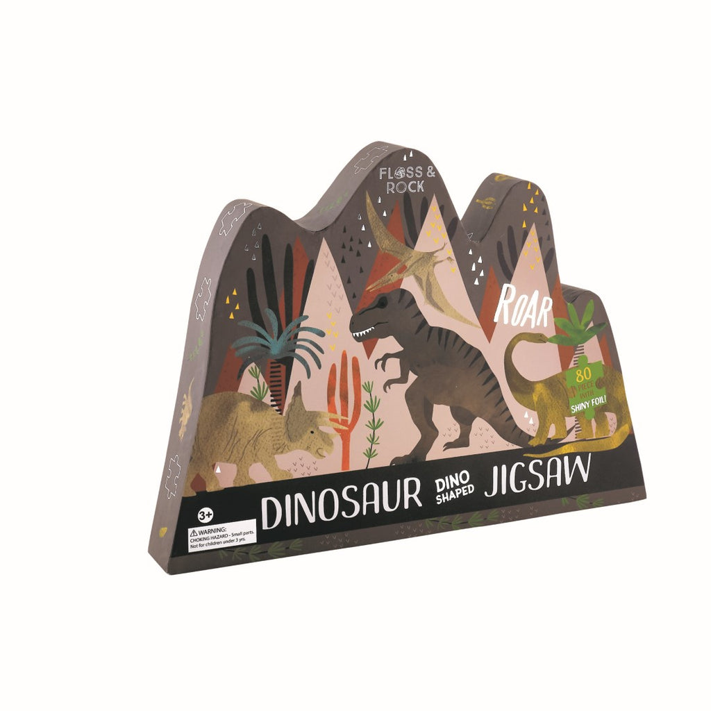 Floss & Rock - 80 Piece Dinosaur Jigsaw